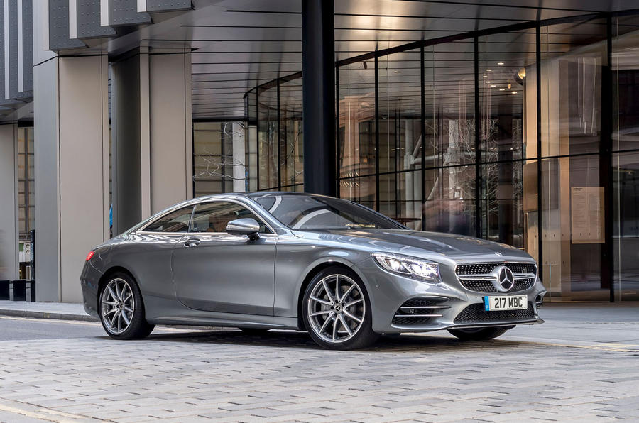 Mercedes-Benz S560 Coupe 2018 UK review static front