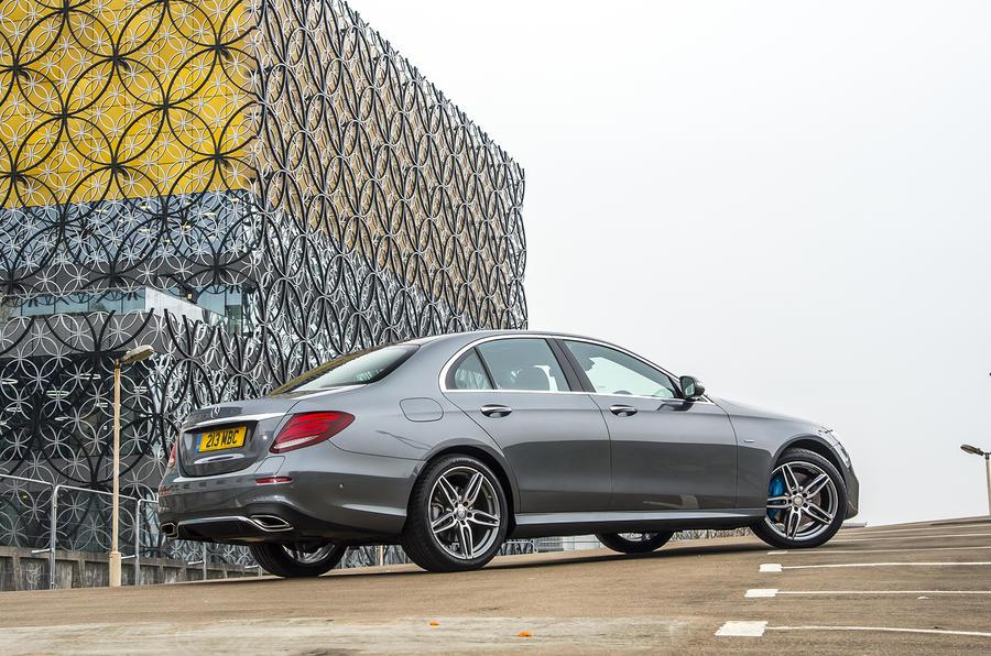 Mercedes-Benz E-Class E300de 2019 UK first drive review - static rear