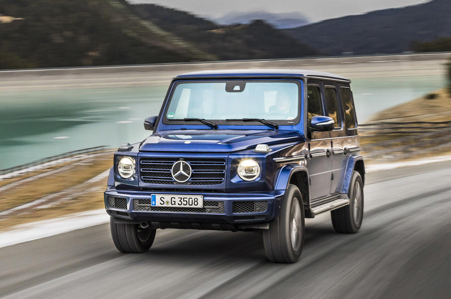 Mercedes-Benz G-Class G350d 2018 first drive review - on the road nose