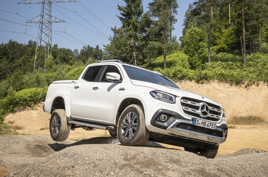 Mercedes-Benz X-Class X350d 2018 first drive review static action