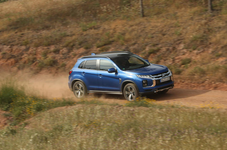 Mitsubishi ASX 2019 first drive review - dirt side