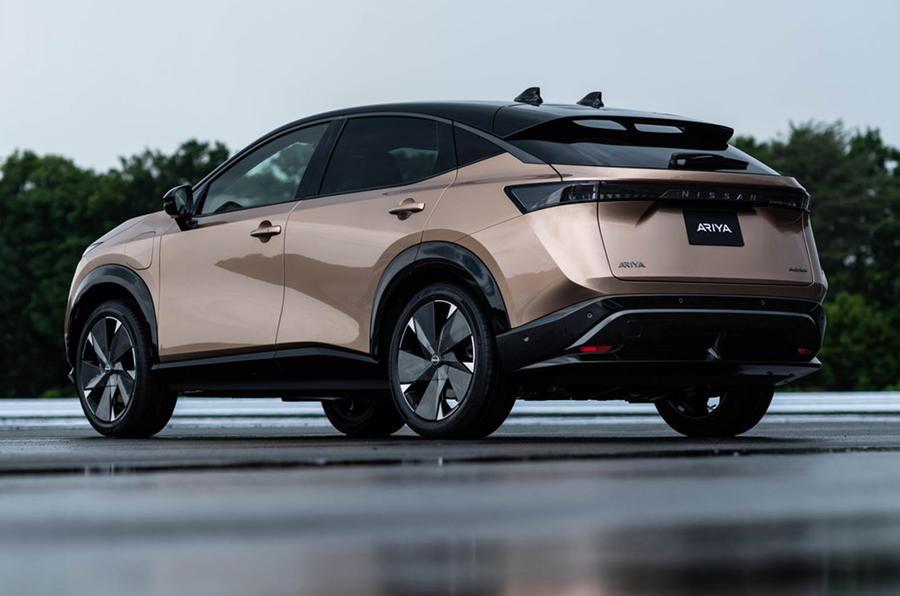 Nissan Ariya Debuts As Direct Mustang Mach-E Competitor