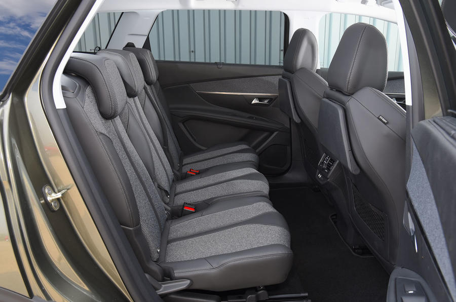 Peugeot 5008 2018 long-term review middle row seats