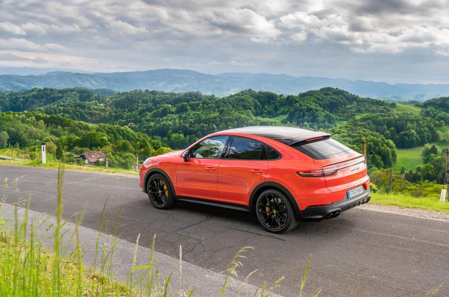 Porsche Cayenne Coupé 2019 first drive review - static rear
