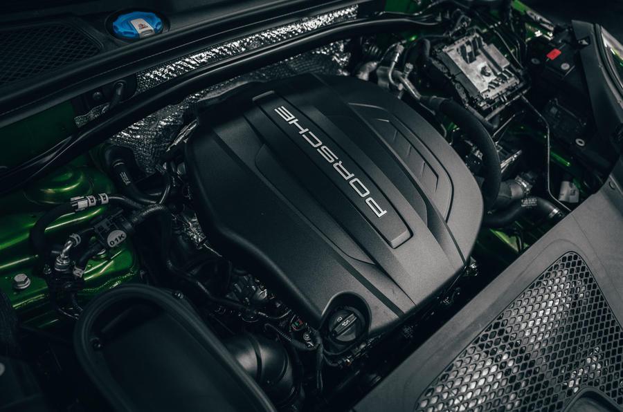 Porsche Macan 2019 first drive review - engine