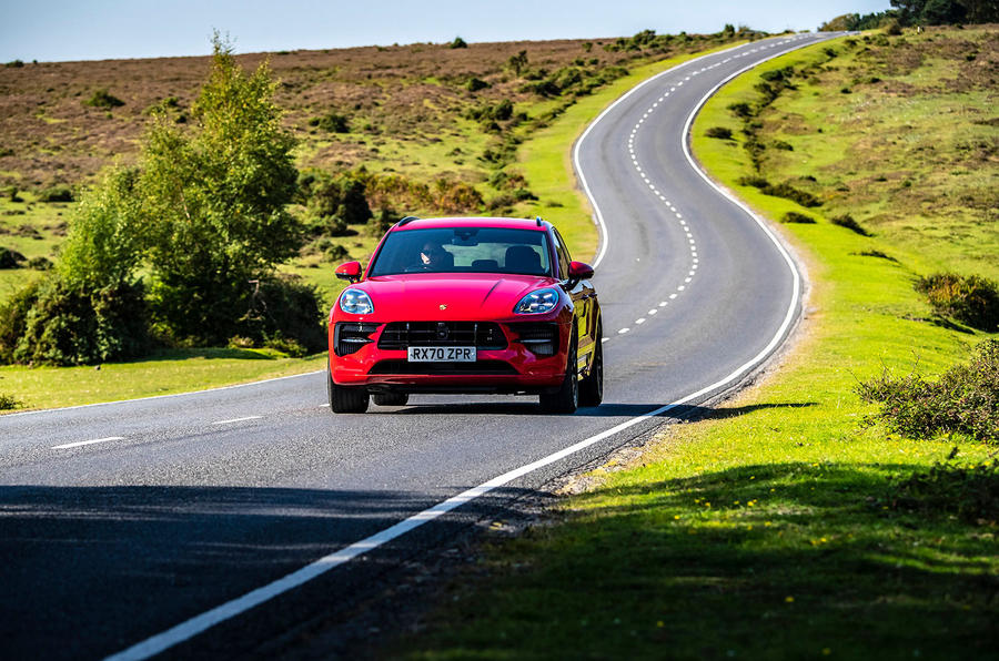 Porsche Macan GTS 2020 UK first drive review - on the road