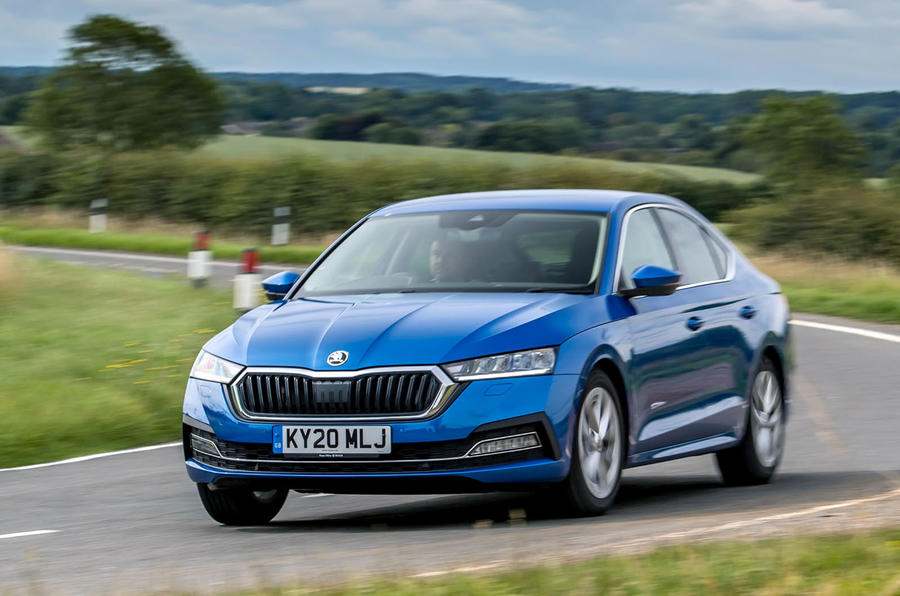 Skoda Octavia hatchback 2020 UK first drive review - on the road front