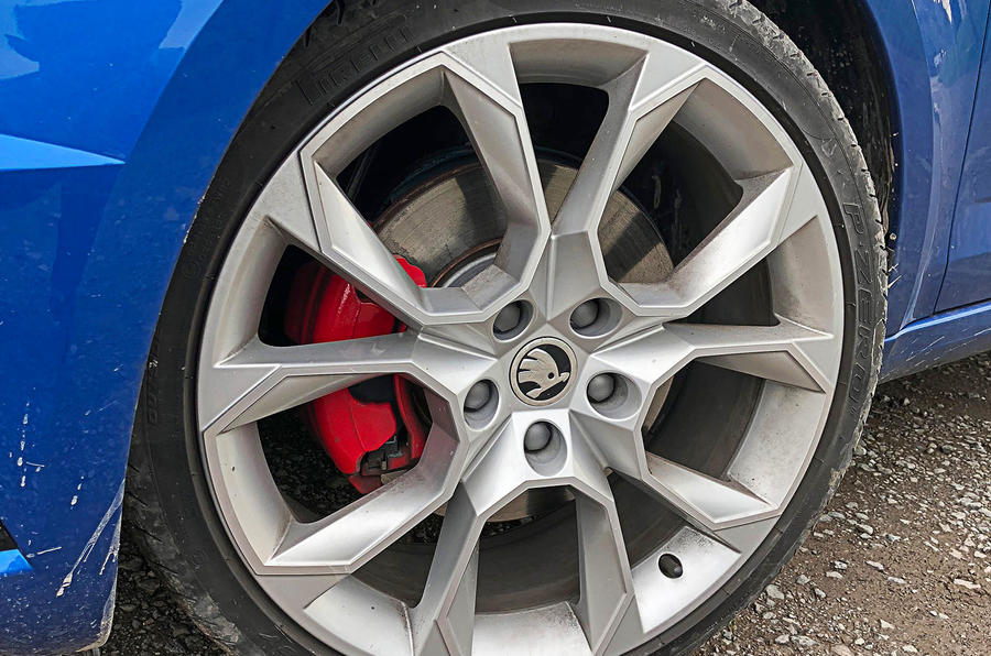 Skoda Octavia vRS diesel longterm review muddy alloys
