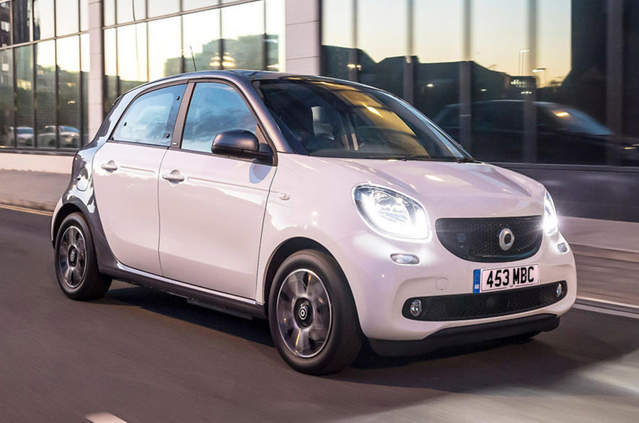 Smart EQ Fortwo - hero front