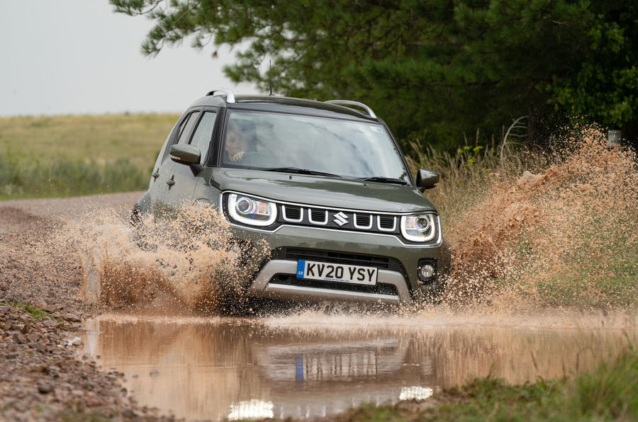 Suzuki Ignis hybrid 2020 UK first drive review - splash front