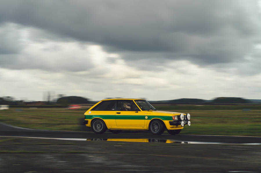 18 Tolman Talbot Sunbeam Lotus 2021 : premier examen de conduite sur piste