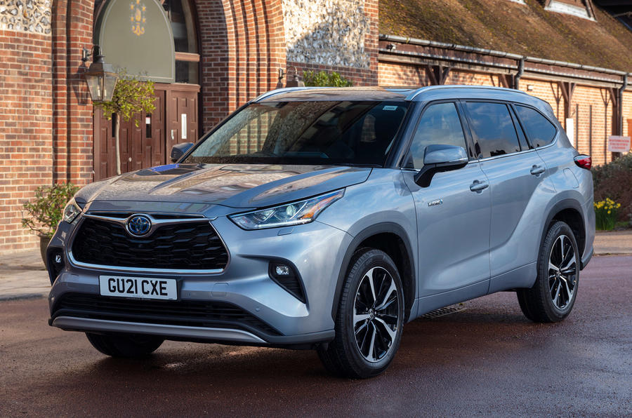 18 Toyota Highlander 2021 UE : essai routier statique