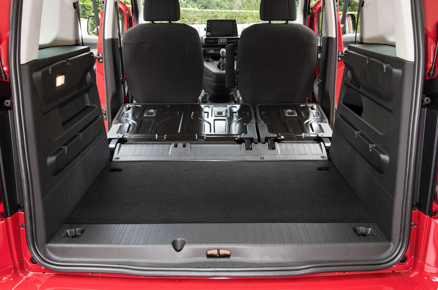 Vauxhall Combo Life 2018 UK first drive review boot space seats down