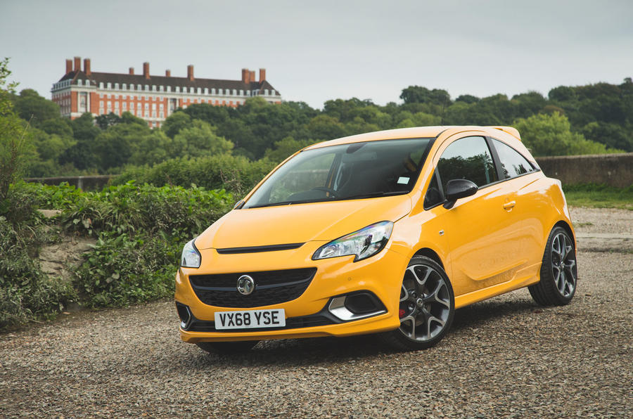 Vauxhall Corsa GSi 2018 UK first drive review static