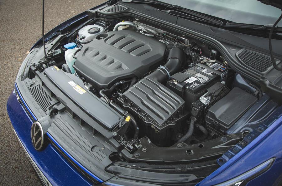 18 Volkswagen Golf R performance pack 2021 UE FD moteur
