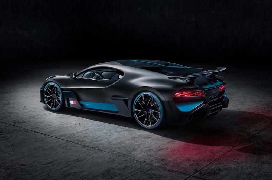 Bugatti Divo side rear