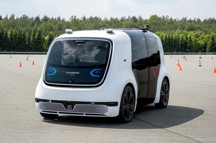 Volkswagen's driverless car technology