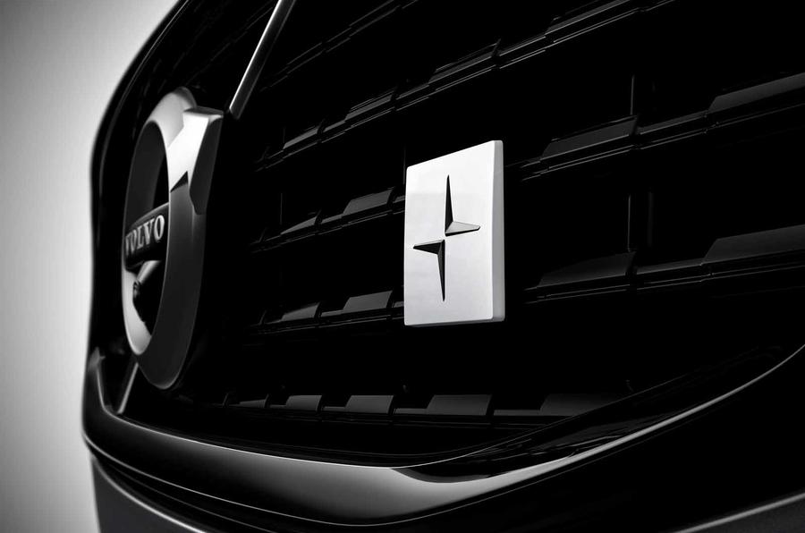 Volvo S60 Polestar Engineered front badge