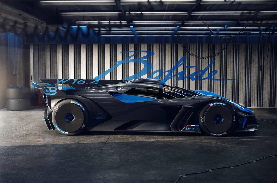 Bugatti Bolide side on