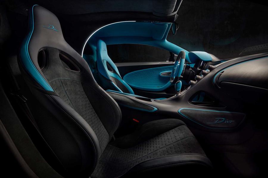 Bugatti Divo seats