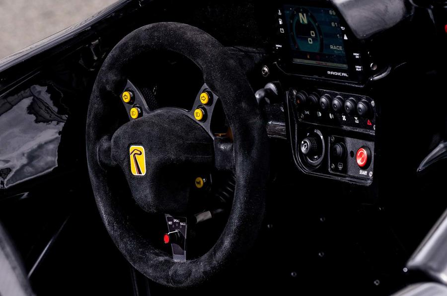 2019 Radical Rapture press images - steering wheel