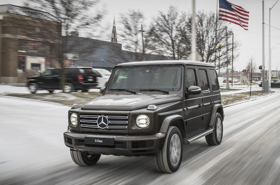 All new mercedes benz g class revealed autocar for New mercedes benz g wagon
