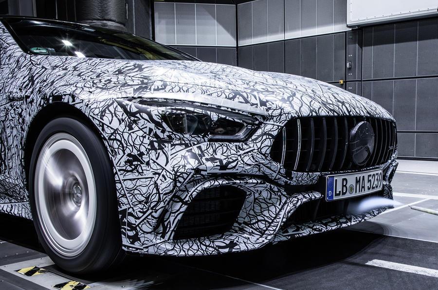 New Mercedes-AMG sports car