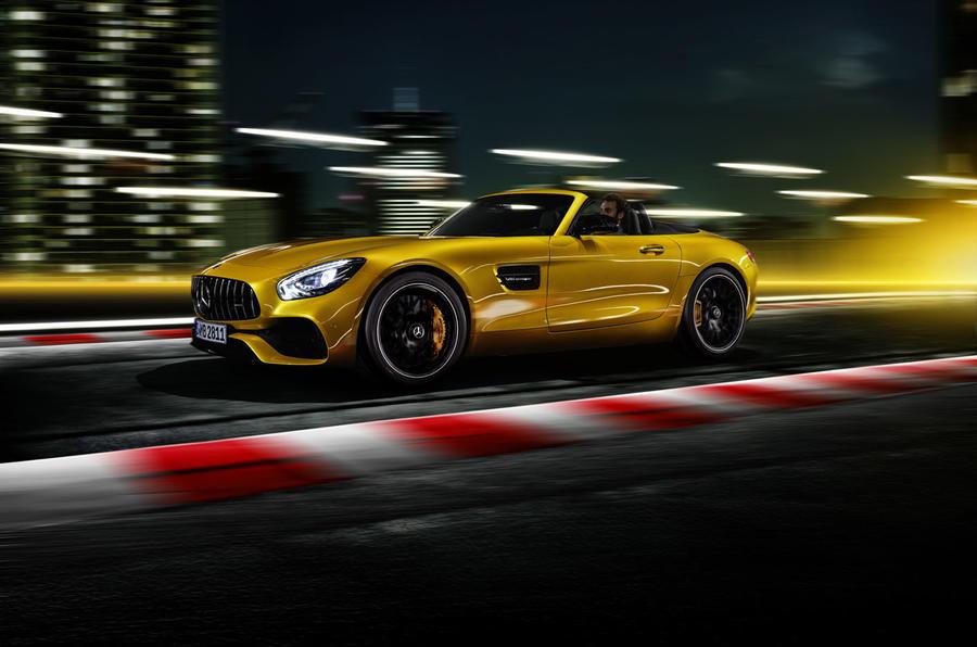 Mercedes-AMG GT S Roadster arrives as 515bhp drop-top
