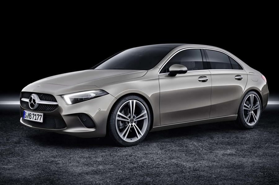Mercedes-Benz A-Class sedan unveiled