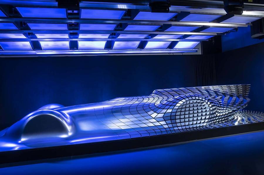 Mercedes-Benz Electric Silver Arrow concept