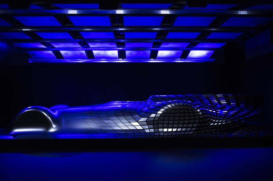 Mercedes Benz Electric Silver Arrow Concept Previews Eq