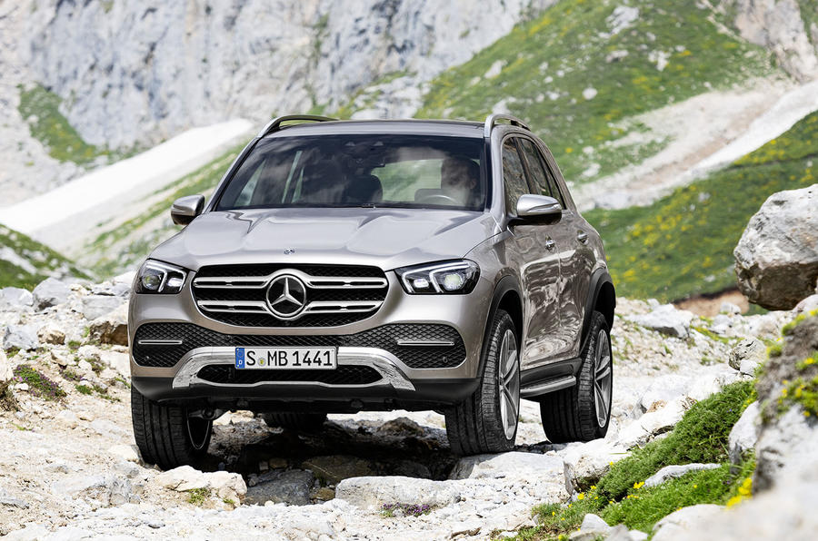 2019 mercedes gle gets long range hybrid and trick suspension autocar. Black Bedroom Furniture Sets. Home Design Ideas