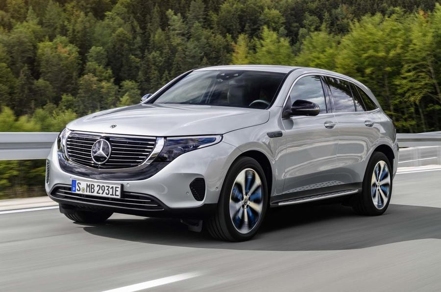 Mercedes-Benz EQ C production version
