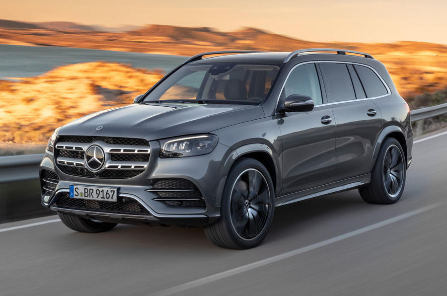 New Mercedes-Benz GLS - hero front