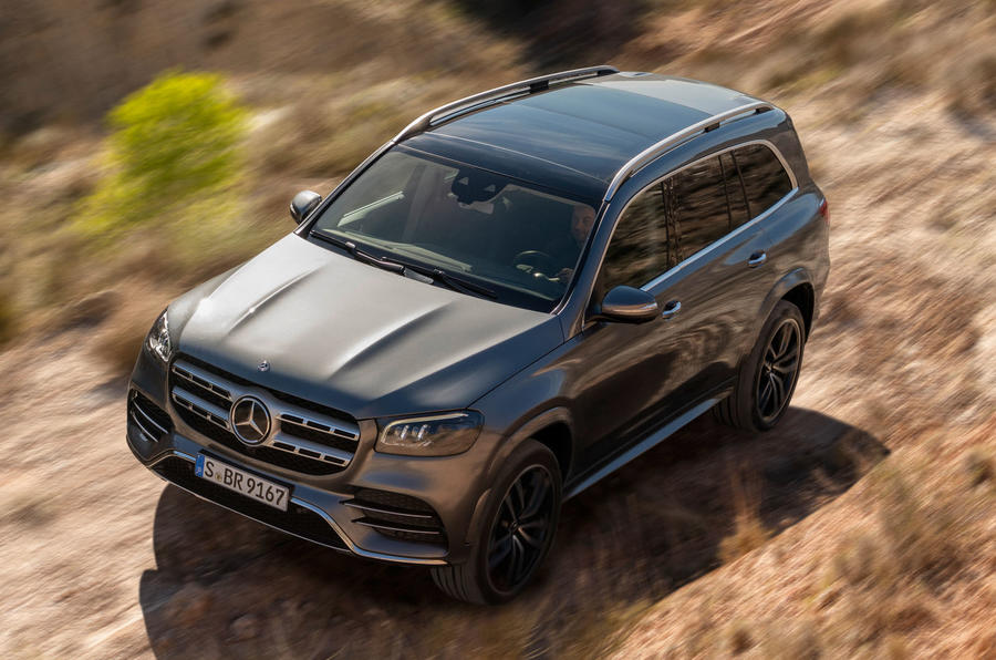 New Mercedes-Benz GLS - off-roading