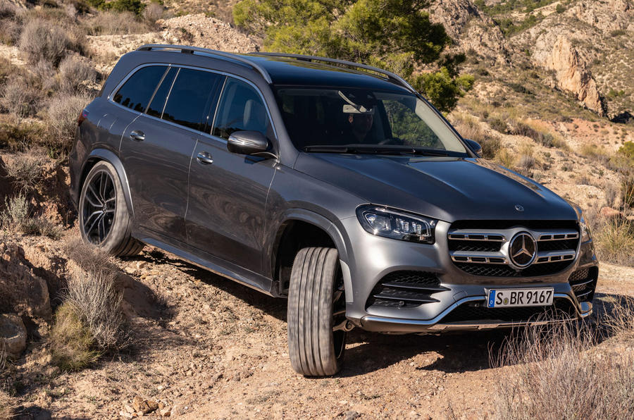 New Mercedes-Benz GLS - off=roading