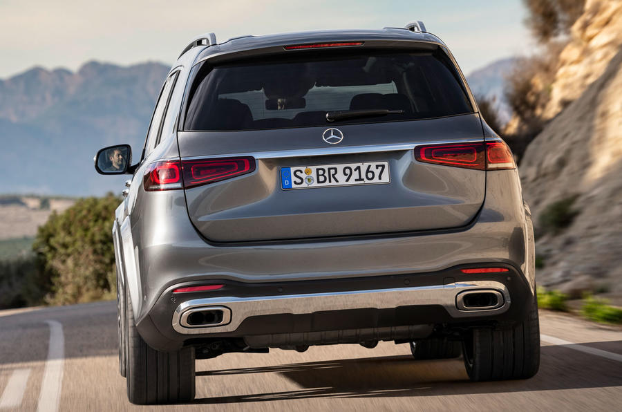 New Mercedes-Benz GLS - rear