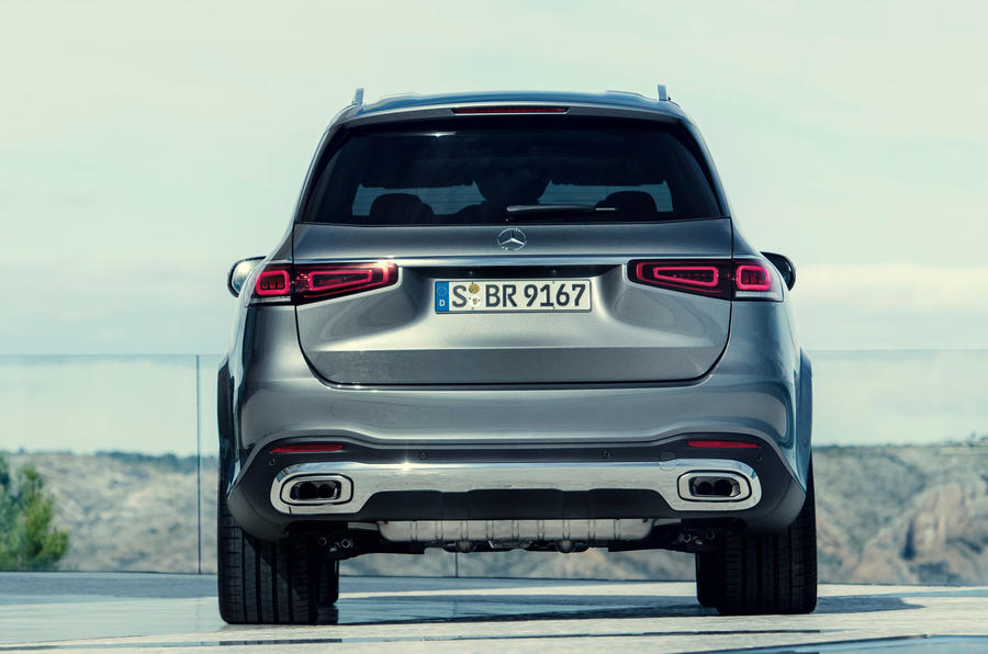 New Mercedes-Benz GLS - static rear