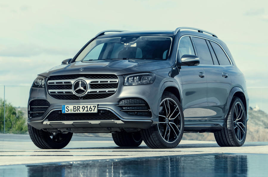 New Mercedes-Benz GLS - front 3/4