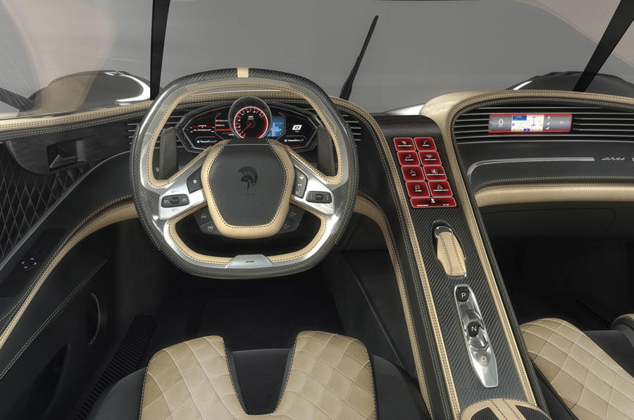 Ares S1 Project - interior