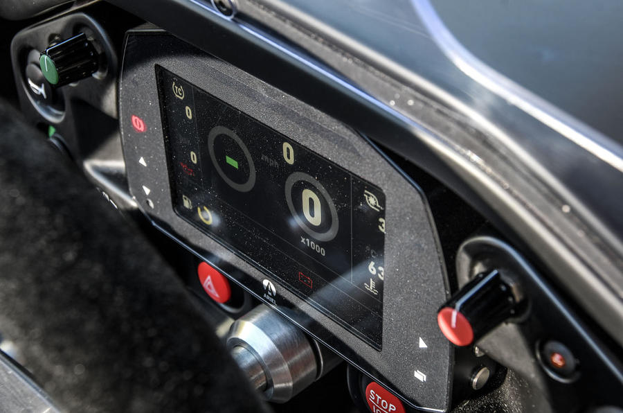 Ariel Atom 4 2018 first drive review display