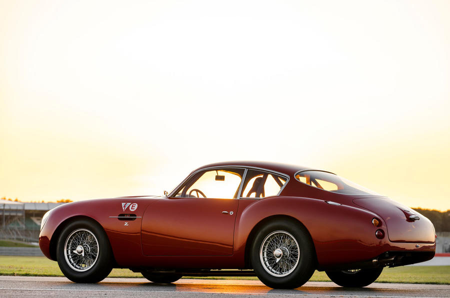 Aston Martin DB4 Zagato Continuation 2019 first drive review - static rear