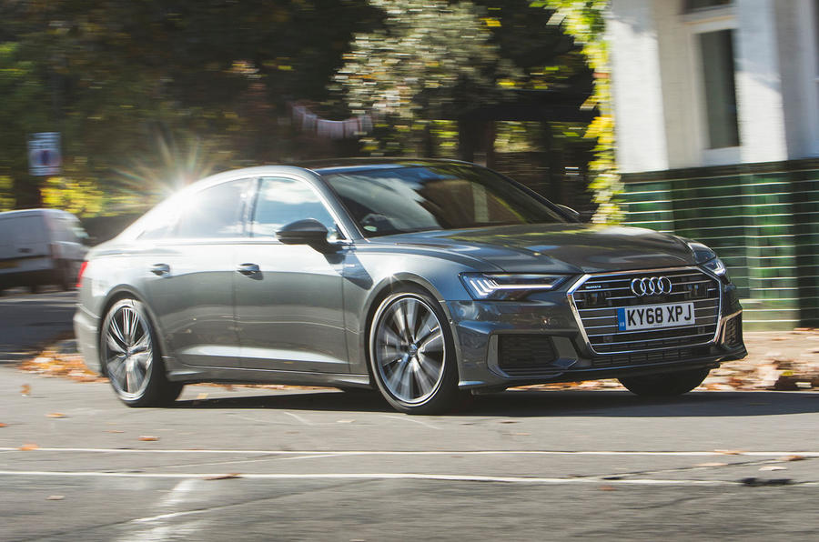 Audi A6 2018 long-term review - on the road side