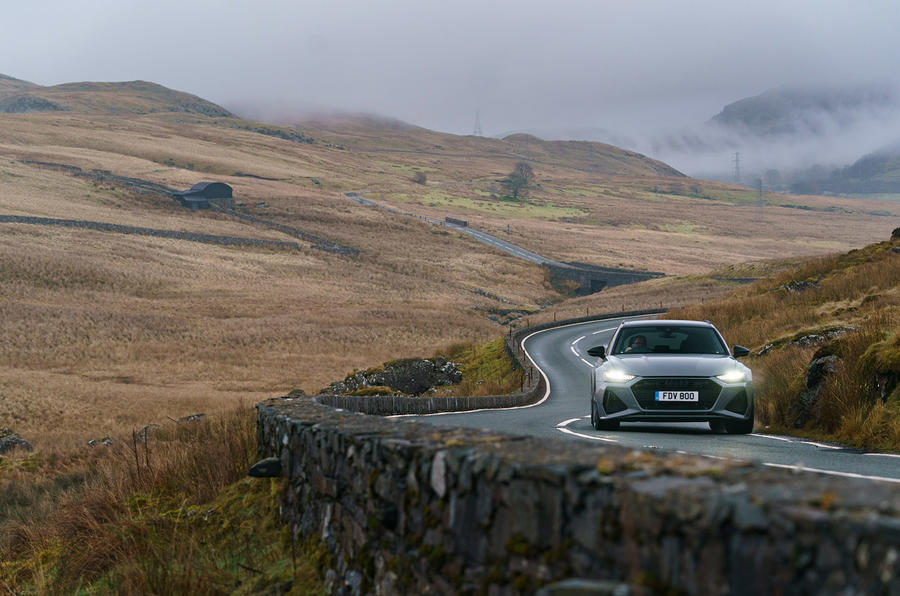 Audi RS6 2020 UK first drive review - roads