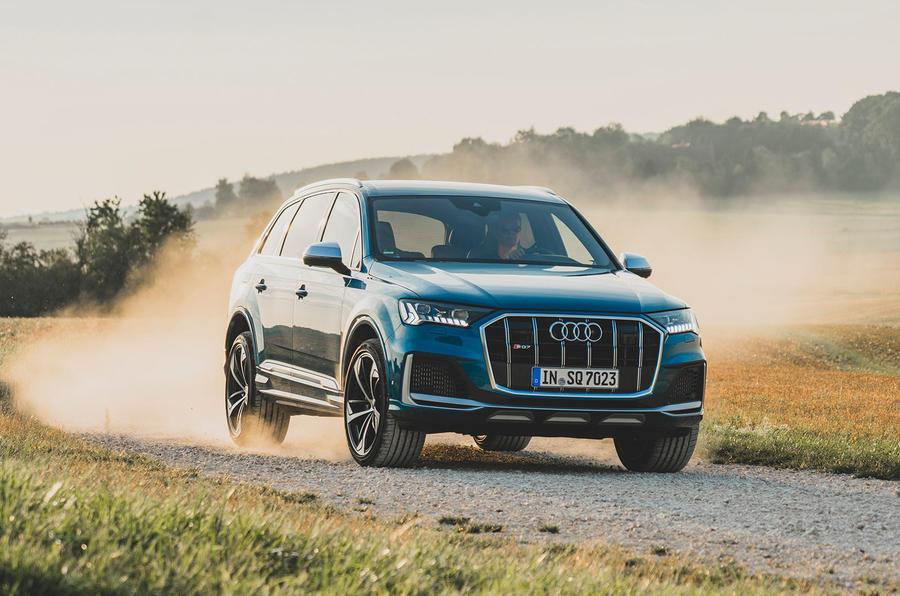 Audi SQ7 2020 : premier bilan de conduite - hors route