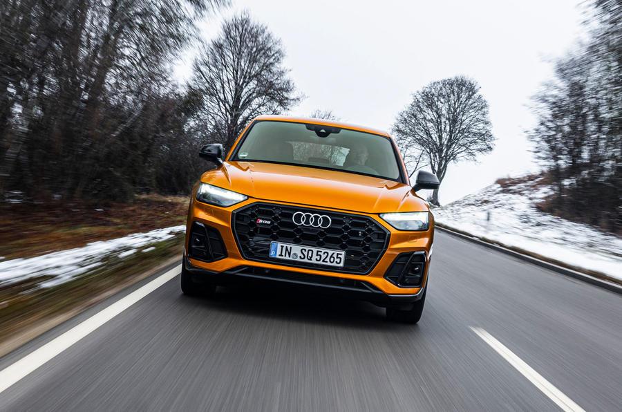 19 Audi SQ5 2021 : premier examen de conduite sur le front de la route