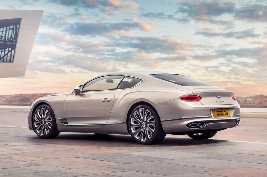 Bentley Mulliner GT - rear