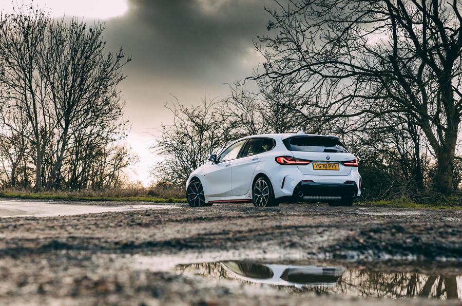 19 BMW 1 Série 128ti 2021 : premier examen de conduite au Royaume-Uni