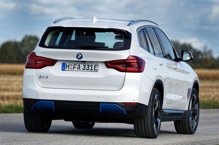 BMW iX3 2020 : premier bilan de la conduite - les virages à l'arrière