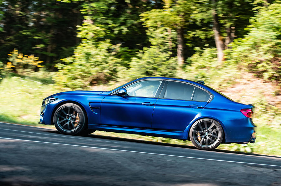 BMW M3 CS 2018 review on the road side